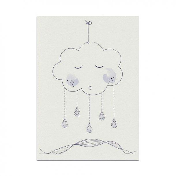 Cloud A4 illustration