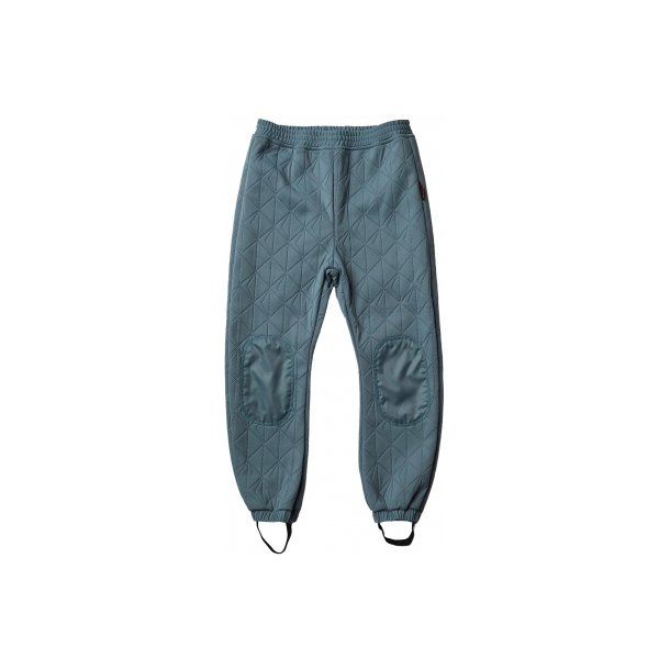 Leif thermo pants Wavy blue