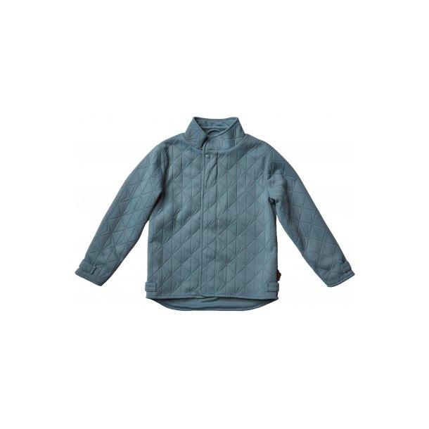 Little Leif jacket wavy blue